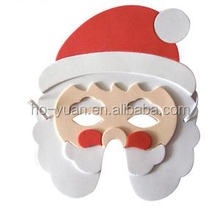 Funny EVA Foam Cartoon Plane Xmas Christmas Masquerade Party Mask