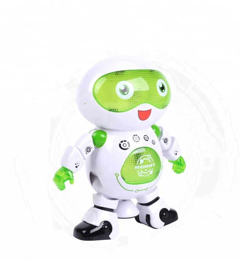 360 degree Revolving Electric Dancing RC Robot