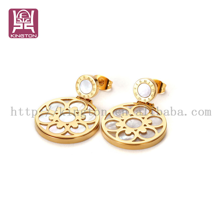 Indian Gold Hanging Earrings Designs For Girls - Buy Gold Earrings ...