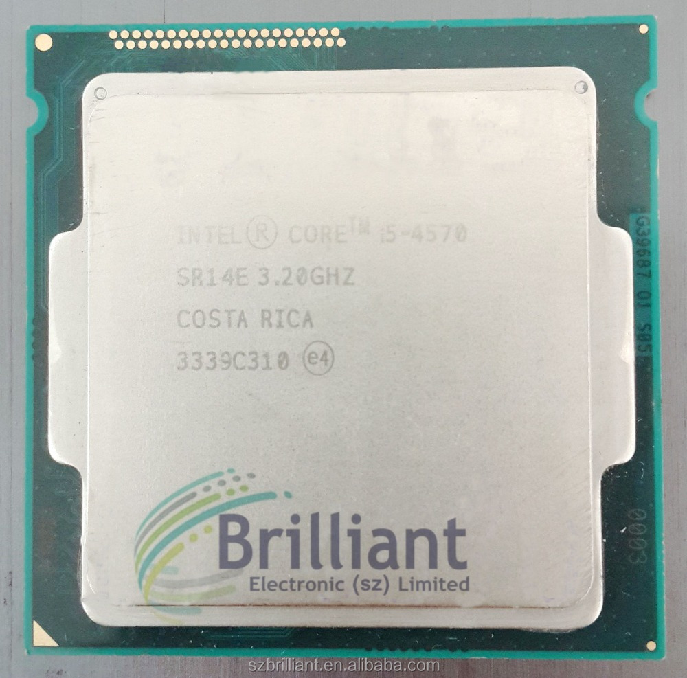 Intel Core CPU i5-4570 cpu Processor (6M Cache, 3.20 GHz) SR14E LGA1150