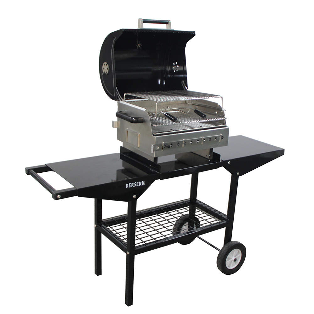 Portable Charcoal Barbecue Grill Outdoor Bbq Grill ...