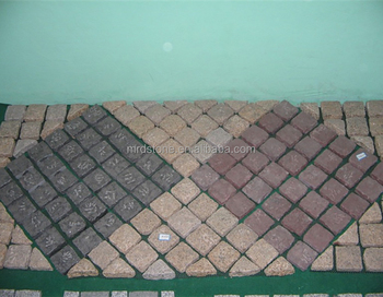Hot Nature Stone Patio Pavers Paving Granite Cobblestones Paver For Driveway