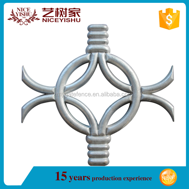 the most beautiful cast iron fence ornaments / aluminum sand casting ornaments for fence