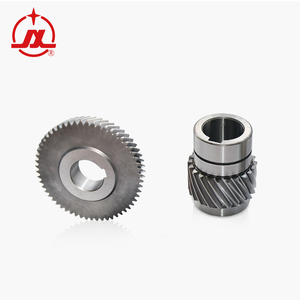 Application of high precision helical spur ring gears