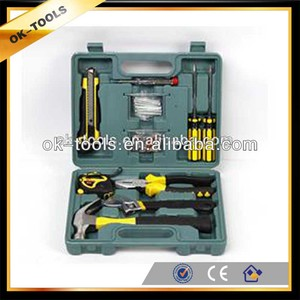 new 2014 10pcs Korea hot selling hand tools, household hand tool tool box  tractor manufacturer China wholesale alibaba supplier