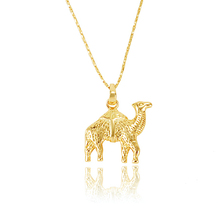 30704 Xuping cheap 24K gold plated camel animal necklace pendants wholesale jewelry