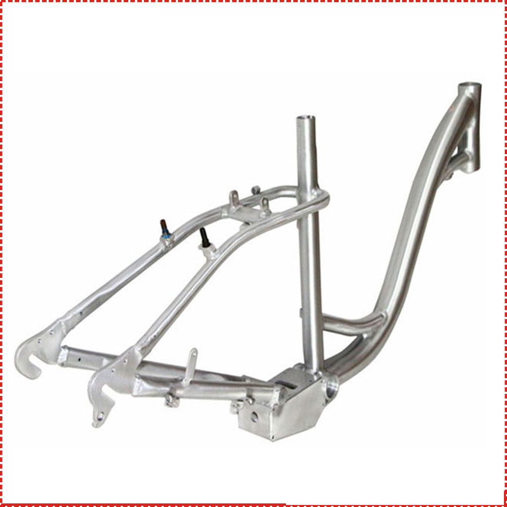 aluminium battery in frame electric bike frame