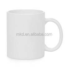 MEIKEDA 11oz Strengthen porcelain blank white mug for sublimation