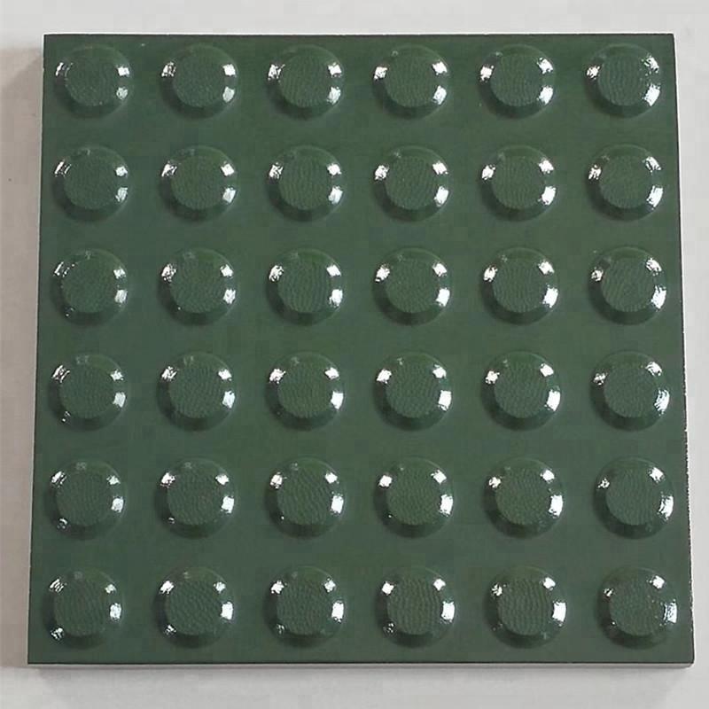 Керамические тактильные плитки для слепых руководство с направлением