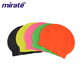 Mirate Brand Big Waterproof swimming hat Summer Sport Diving Promotional latex Swimming Cap