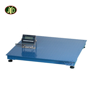 1000kg Movable Pallet Weighing Floor Scale Poultry Floor Scales with printer and Ramp