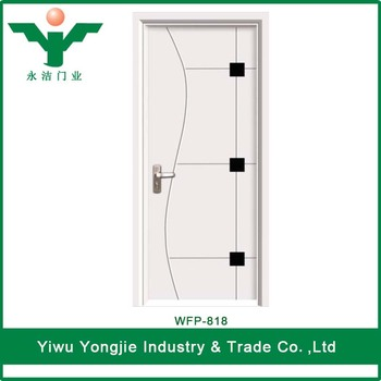 Standard Size Bedroom Pvc Door Models Low Price Sensor Bathroom Pvc