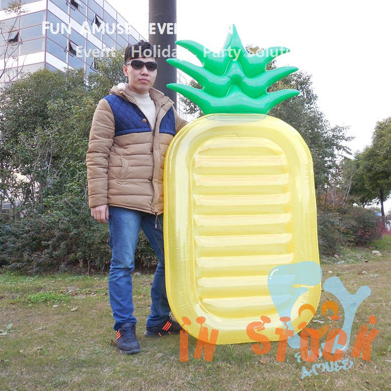 2016 New Giant Water Float Air Mattress Inflatable Pineapple Float ...