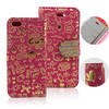 Flip Magic Girl Cover Pouch leather case for IPHONE 5