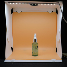 Top quality photographic equipment 3 color backdrops led photo studio shooting tent