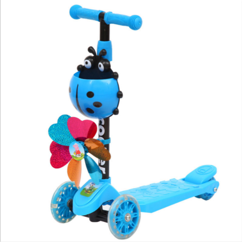 2018 New Model Baby Toys Kid Scooter 3 Wheel 4 Wheel Scooters For