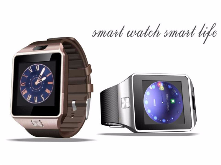 DZ09 Smart Watch with Touch Screen for Smartphone Sim Card for iPhone Android Smartwatch dz09
