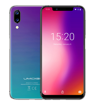 "UMIDIGI one Octa Core cell phone 5.9"" FHD+Full Screen 4G+32GB F/1.7 Android 8.1 4G Smartphone gsm mobile phone unlocked cell"