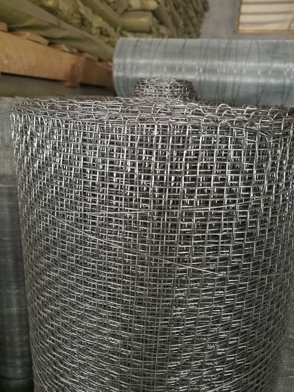 Heavy Duty Woven Wire Screen Hooked Mine Sieving Mesh - Buy Mine ...