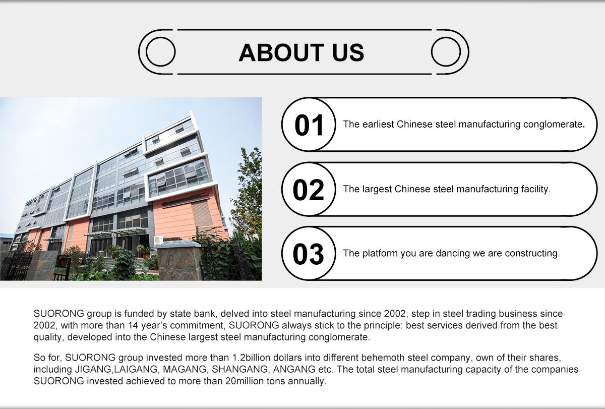 Jinan Suorong Trade Co , Ltd  - Galvanized Steel Coil