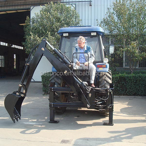 Mounted tractor LW series backhoe, CE tractor backhoe loader