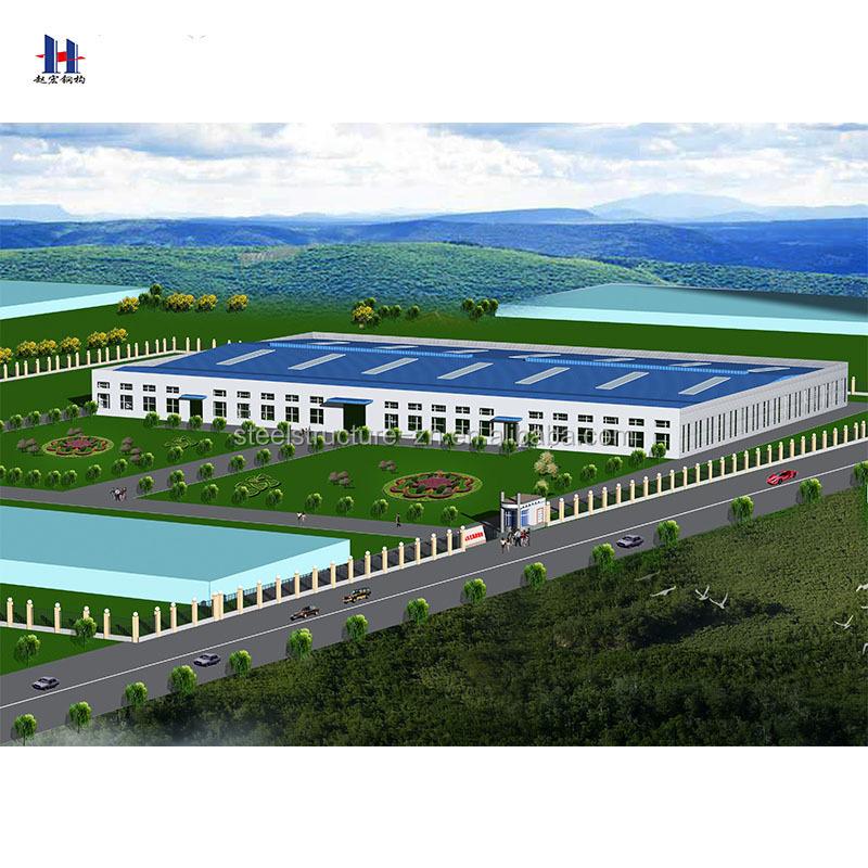 Pre Engineered Steel Structure Warehouse