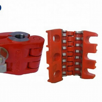 API11B double bolts Polished Rod Clamp for oil well