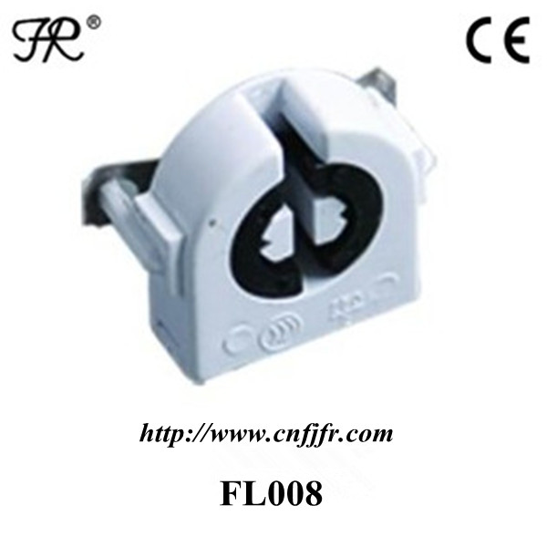 CE certificate T8,T5 fluorescent lamp holder