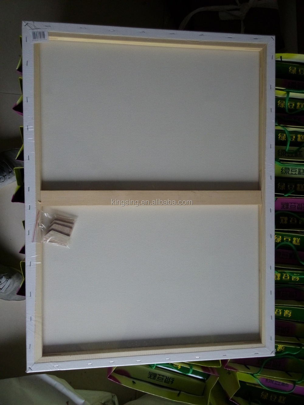 wholesale big size blank stretched canvas framecanvas for painting