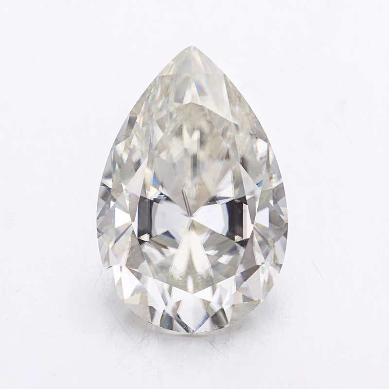 Forever Brilliant Pear Cut 10x7mm GH White Created Loose Moissanite <strong>Diamond</strong> For Engagement Ring.