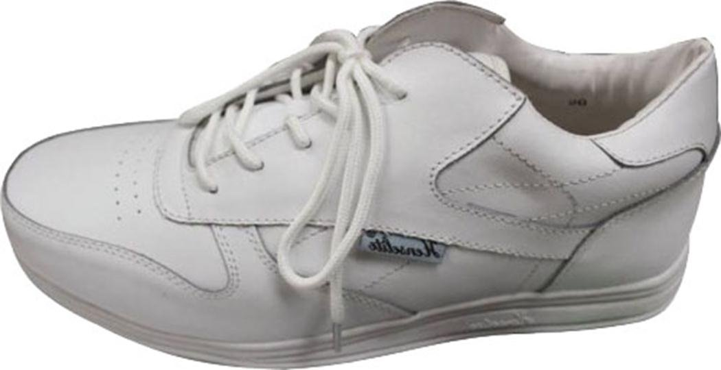 Junior Henselite Victory Sport Lace Lawn Bowling Shoes White UK Sizes 2-5