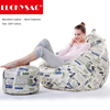LUCKYSAC Living Room Sofa of European Style Adults Bean Bag Chair ,Indoor or Outdoor Bean Bag Cover