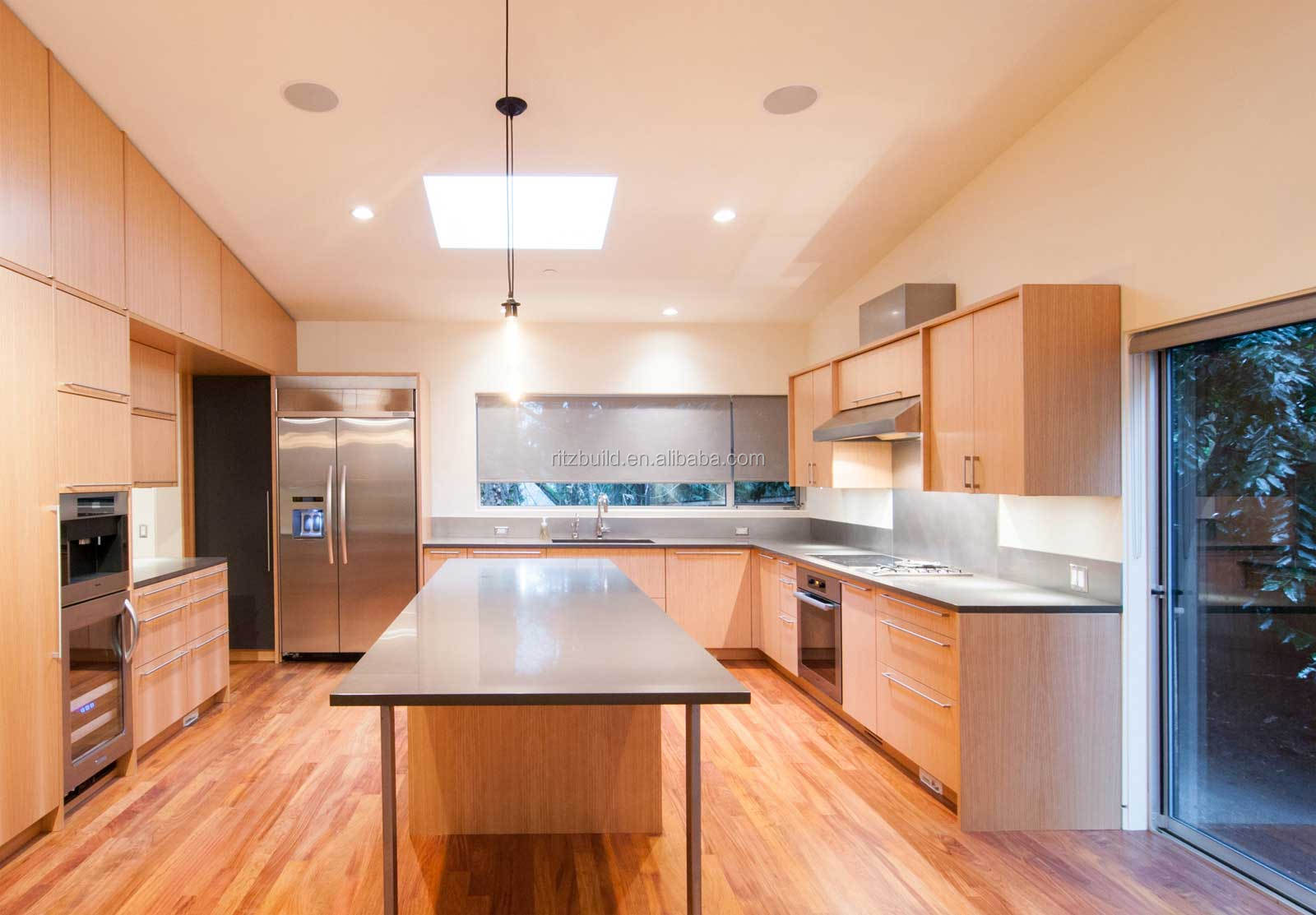 free design customized kitchen cabinet with laminated sheet kitchen cabinet - Customized Kitchen Cabinets