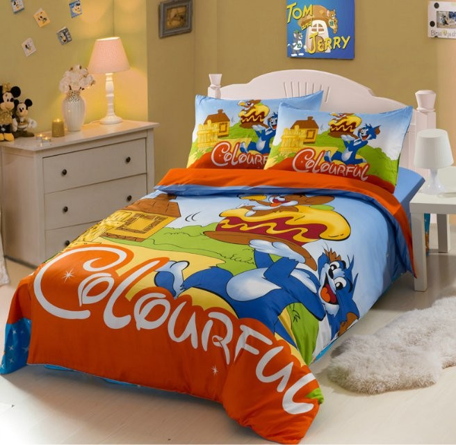 Wholesale Tom And Jerry Bedding Set Boys Twin Full Size