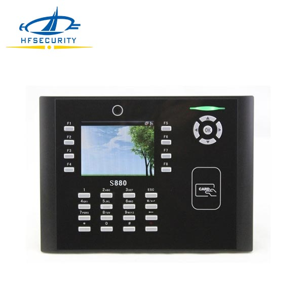 WIFE/GPRS Network RFID Time Attendance and Access Control Terminal (HF-S880)