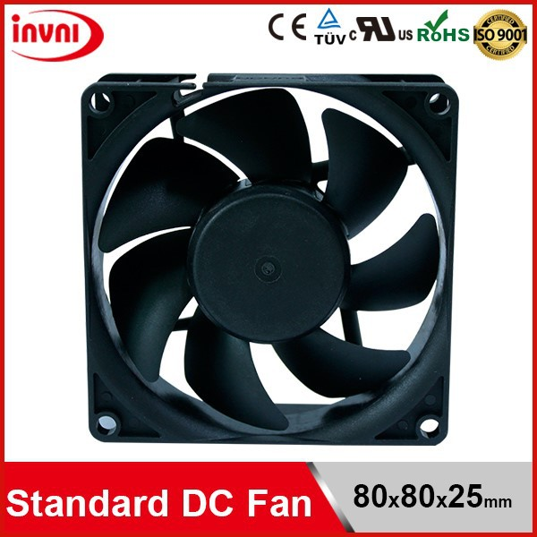 Standard SUNON 8025 80mm 80x80 Exhaust Laptop Cooler 24V DC Axial Flow Good Quality Cooling Fan 80x80x25 mm (EE80252B2-0000-999)