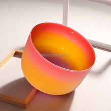 JD <span class=keywords><strong>Conjunto</strong></span> Chakra Cor <span class=keywords><strong>Rainbow</strong></span> Crystal Canto Bowl