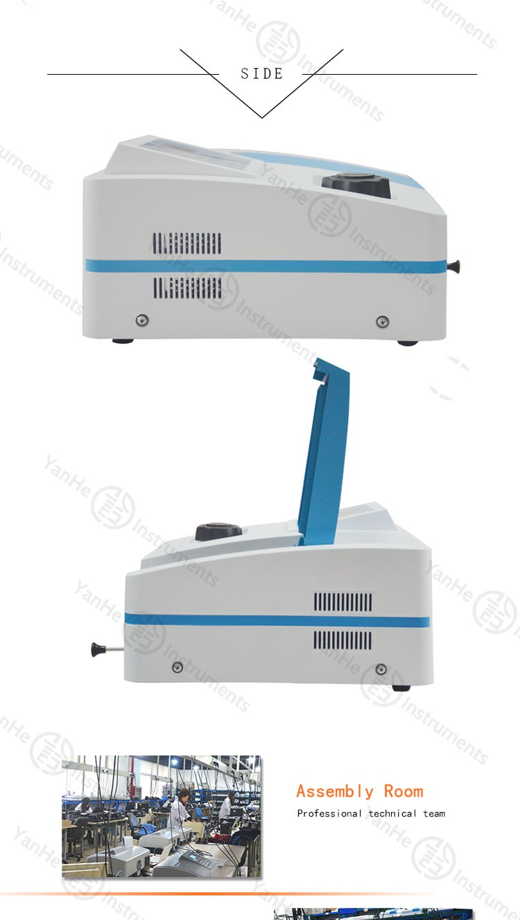 High quality VIS spectrophotometer price