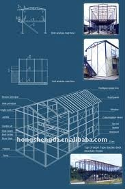 Prefabricated light Weight Steel Structure Workshop for Sale