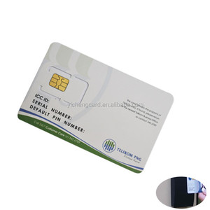 Blank Offset Printing Sim Cards Pvc Card, Blank Offset