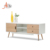Modern living room furniture design wooden tv stand cabinet with drawer
