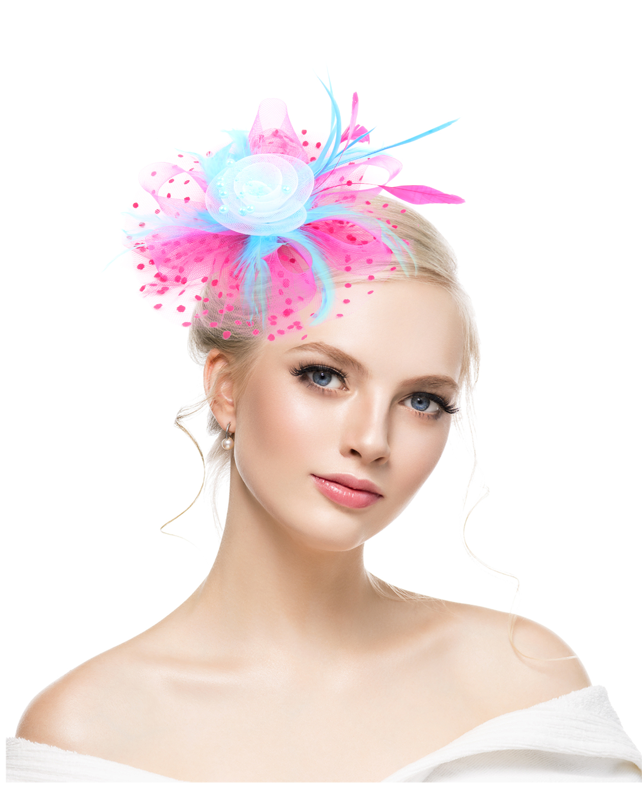 Women/'s Feather Fascinator Please choose Wedding Accessories Headpiece
