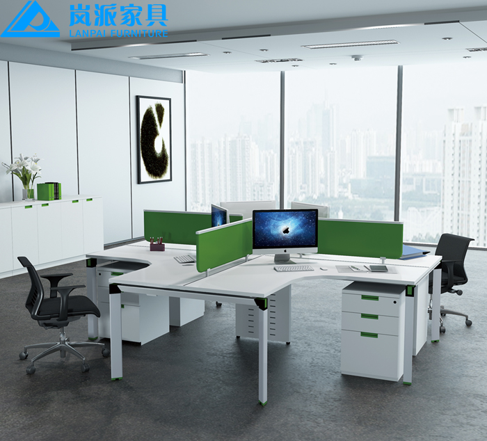 Office Table For 4 Person: Hot Seal Office Furniture Design Staff Tables,Office