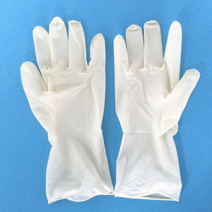 cheap medical use powdered and powder free latex gloves