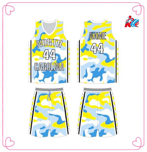Quick Dry Custom Digital Camo Basketball Uniform With Coolmax ...