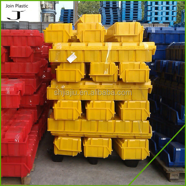 Vegetables folding plastic crates with handle