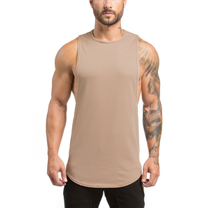 2016 High quality new design mens fitness open side tank top for yoga sports with cheap price promotion China OEM