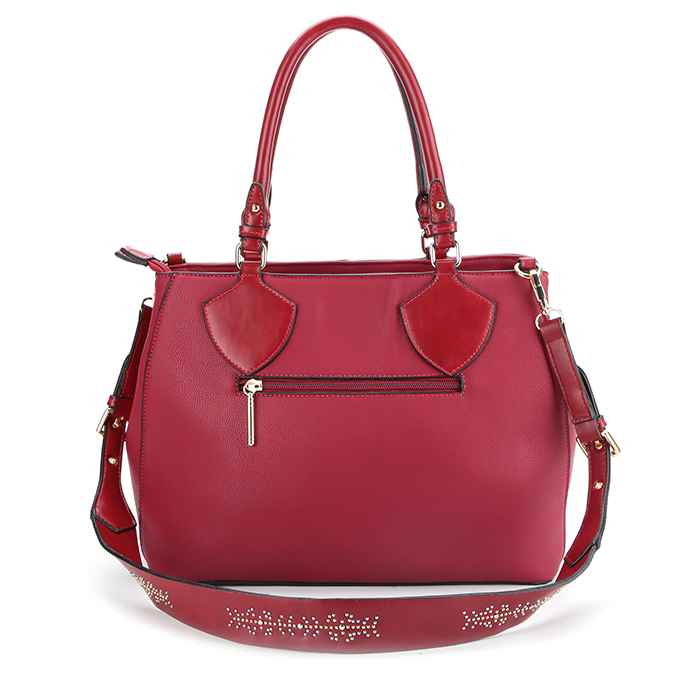 8810-Fashion new ladies PU leather satchel bags 2018