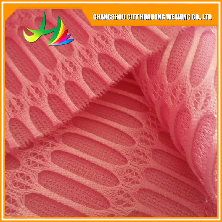 Polyester Printed Mesh Fabric For Women Clothing 3D Air Mesh Fabric 3d fabric for dresses
