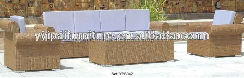 GOOD quality rattan sofa set fashion design outdoor furnitue hot